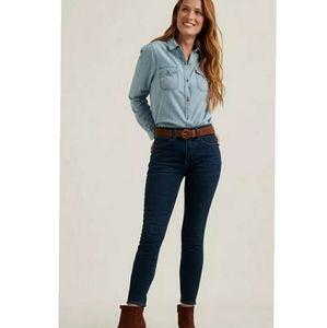 Lucky Bridgette Skinny Ankle Jeans Size 12